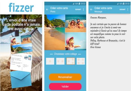 Capture d'écran Fizzer iOS