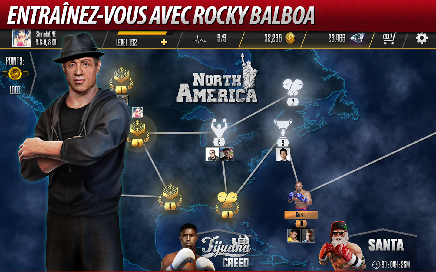 Capture d'écran Real Boxing 2 Creed Android