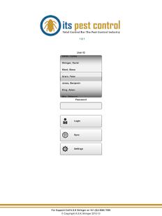 Capture d'écran ItsPestControl for Android