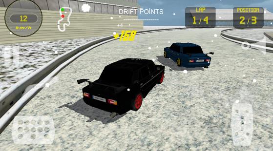 Capture d'écran Lada Drift Racing