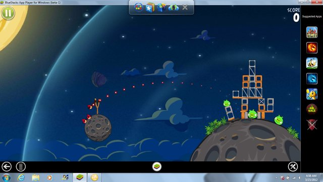 Capture d'écran BlueStacks