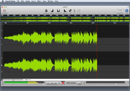 Capture d'écran Sound Studio