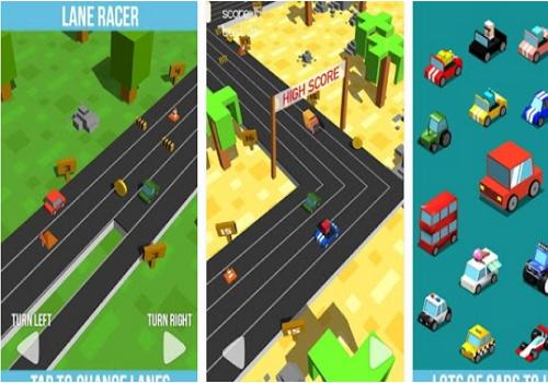 Capture d'écran Lane Racer Android