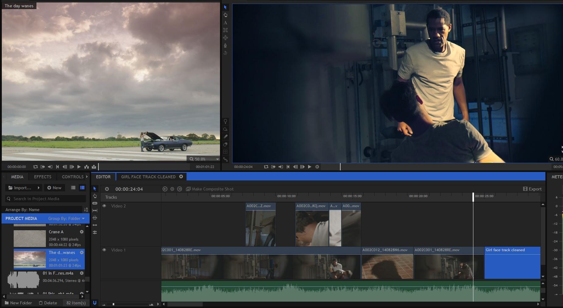 Capture d'écran HitFilm Pro