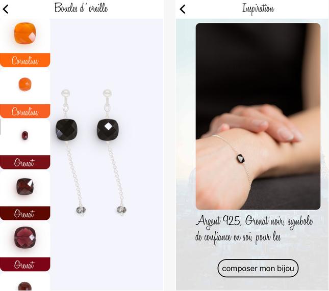 Capture d'écran Coeur de Gemme iOS
