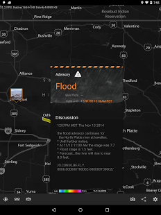 Capture d'écran MyRadar Weather Radar