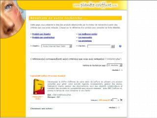 Capture d'écran EBP Coiffure v4