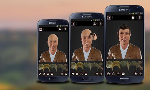 Capture d'écran Face Hair Changer Men-Women