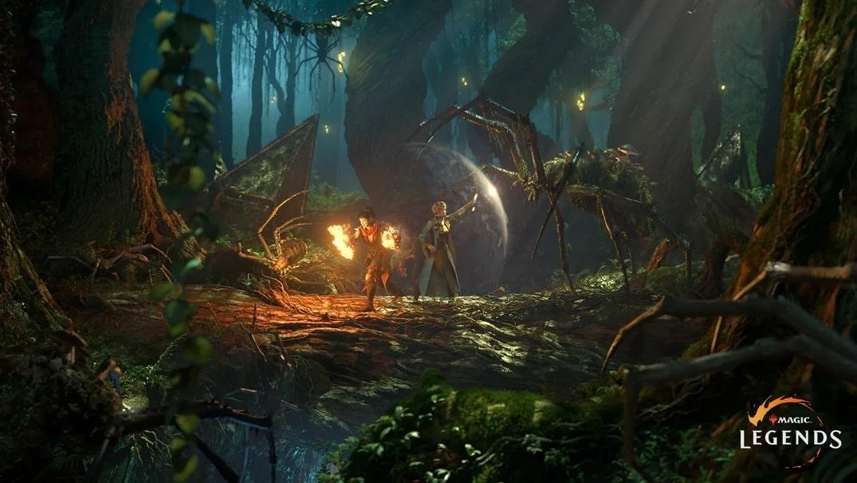 Capture d'écran Magic Legends