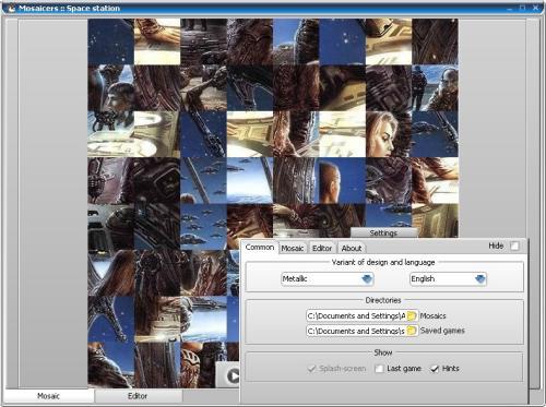 Capture d'écran Mosaicers