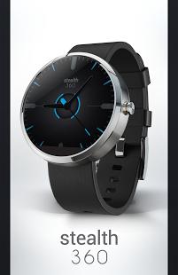 Capture d'écran Watch Face – Stealth360