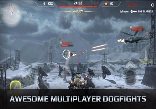 Capture d'écran Battle Copters iOS
