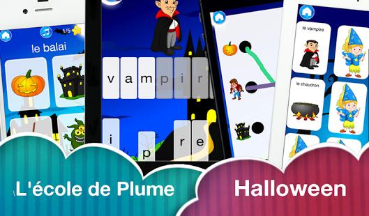 Capture d'écran L'école de Plume – Halloween
