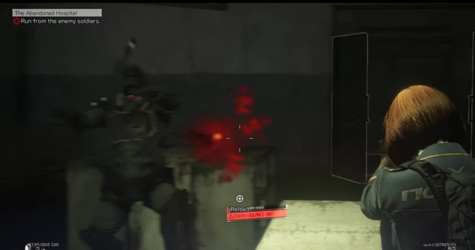 Capture d'écran Left Alive