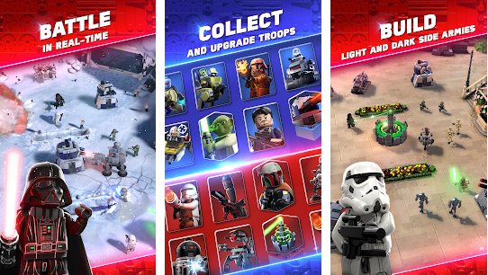 Capture d'écran LEGO Star Wars Battles Android