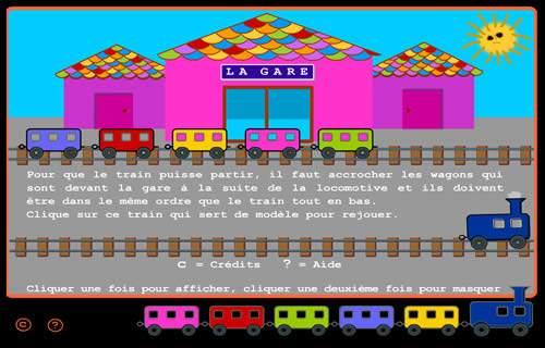 Capture d'écran Le train des couleurs – PC