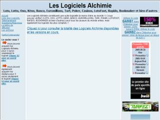 Capture d'écran Multi Filtres Alchimie