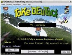 Capture d'écran ToKé'MoTs