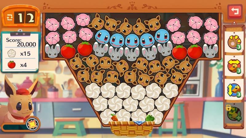 Capture d'écran Pokémon Café Mix iOS