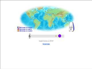 Capture d'écran Métronimo solfège