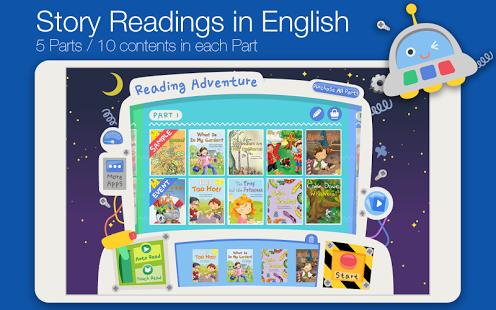 Capture d'écran Reading Adventure Level 1