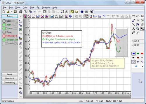 Capture d'écran FindGraph