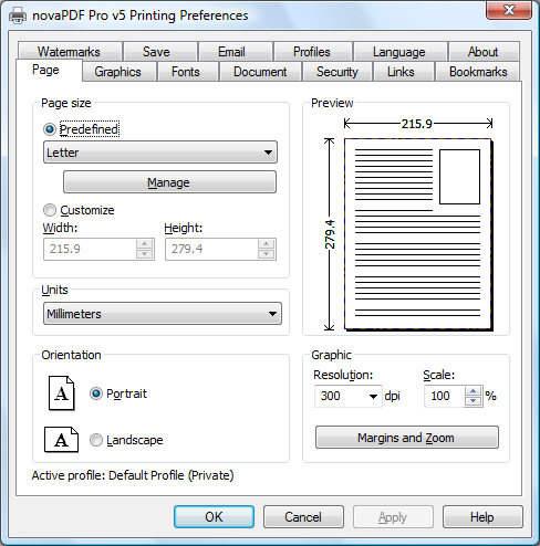 Capture d'écran novaPDF SDK