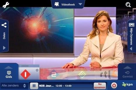 Capture d'écran KPN iTV Online