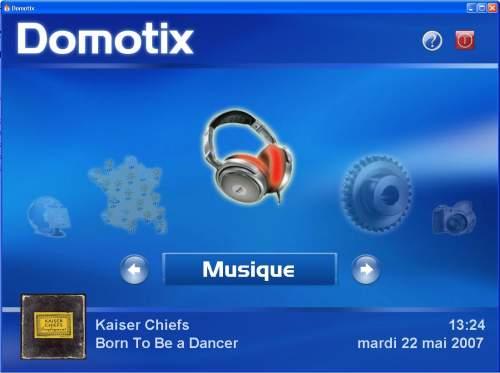 Capture d'écran Domotix