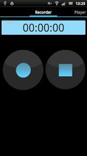Capture d'écran Enregistreur vocal simple