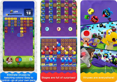 Capture d'écran Dr. Mario World iOS