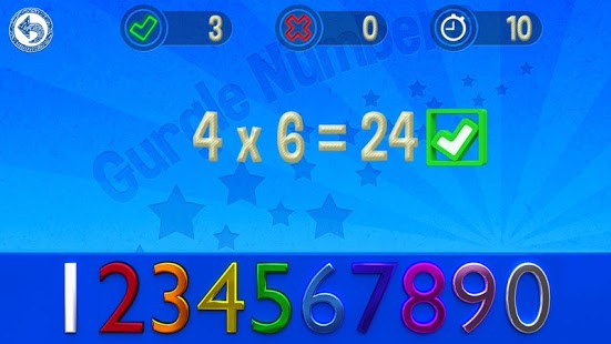 Capture d'écran Gurgle Numbers