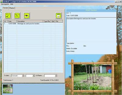 Capture d'écran Jardinal