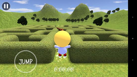 Capture d'écran Labyrinthe en 3D