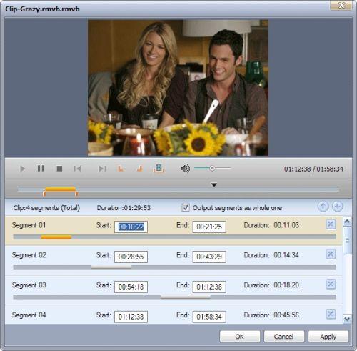 Capture d'écran ImTOO Convertisseur Video Ultimate
