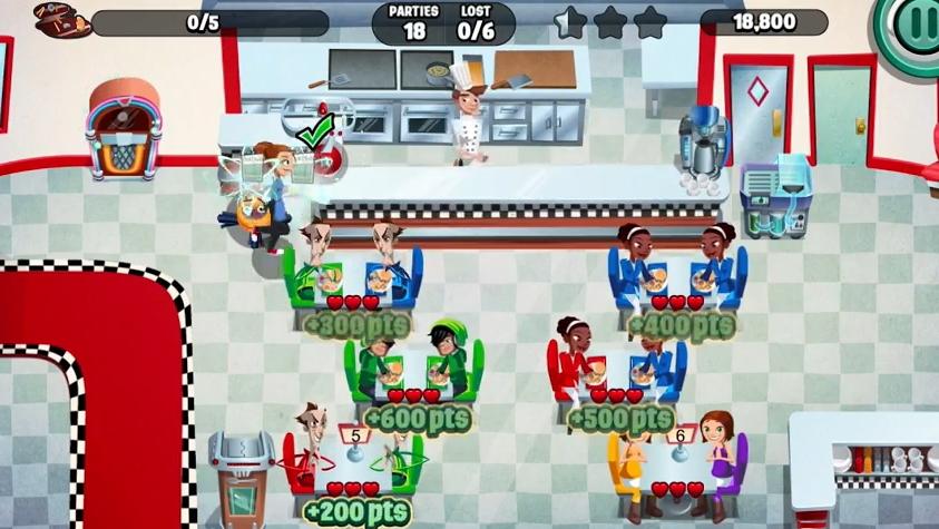 Capture d'écran Dinner Dash android