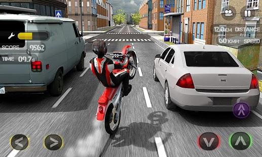 Capture d'écran Race the Traffic Moto FULL