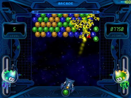 Capture d'écran Space Bubbles