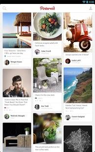 Capture d'écran Pinterest