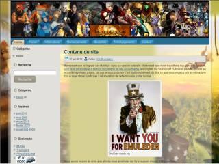 Capture d'écran EmulEden