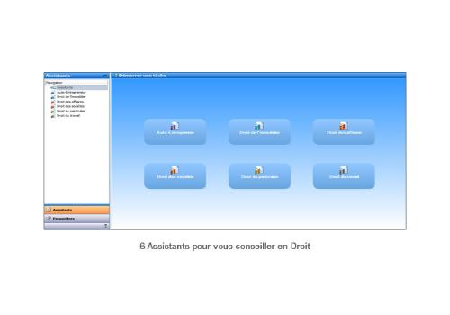 Capture d'écran EBP Pack Juridique Pratic 2014