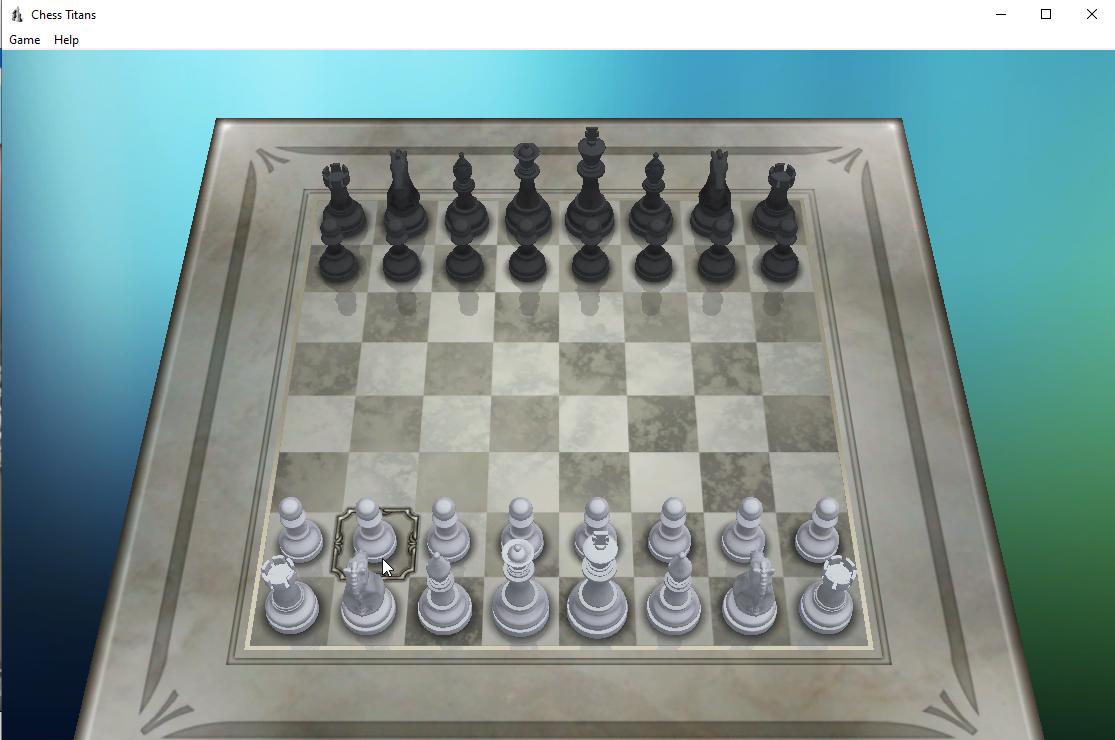 Capture d'écran Chess Titans