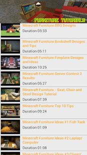 Capture d'écran Furniture Ideas Minecraft 2015