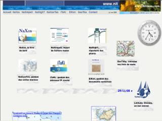 Capture d'écran NaXos, le livre de bord électronique