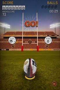 Capture d'écran Flick Kick Rugby