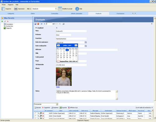 Capture d'écran DELIAWIN