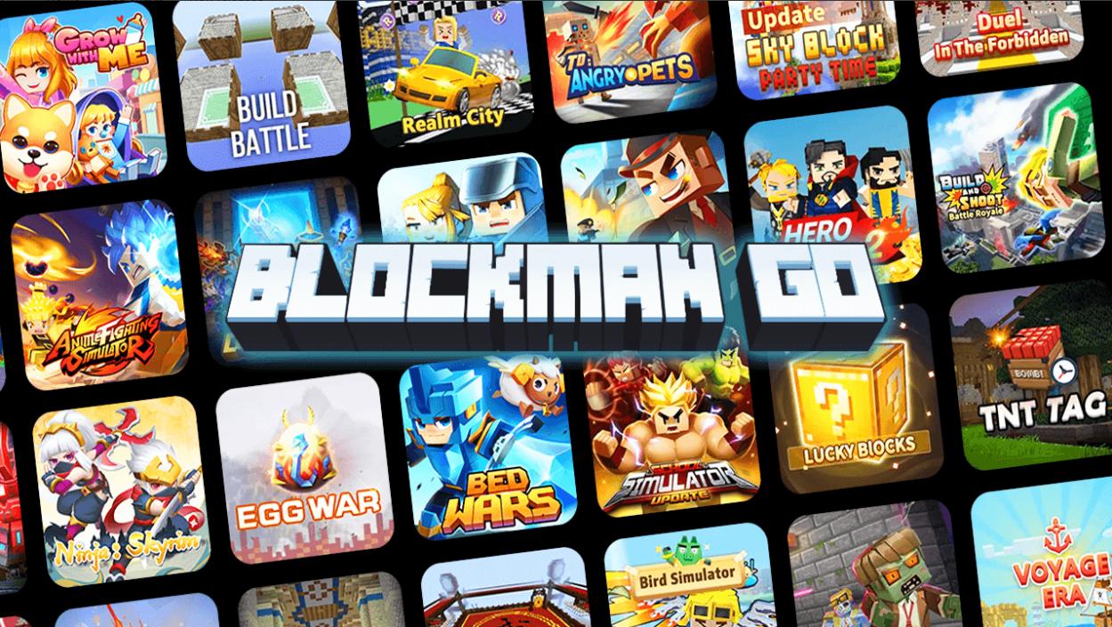 Capture d'écran Blockman Go