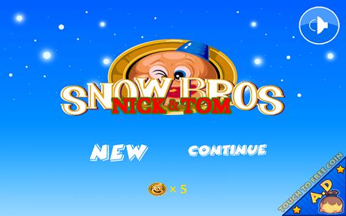 Capture d'écran Snow Bros