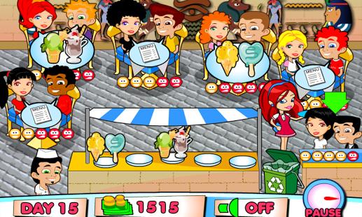 Capture d'écran Restaurant de Glaces