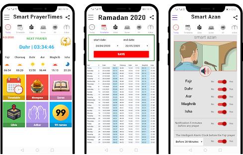 Capture d'écran Ramadan 2020 – heure de prière Android